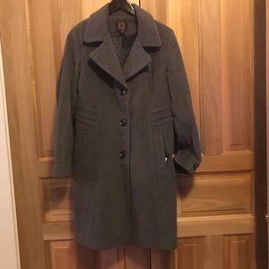 NWT!  Wool cashmere blend winter coat - size 10